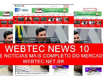 Template Wordpress Pronto para Notícias Webtec News 10 - Webtec Scripts